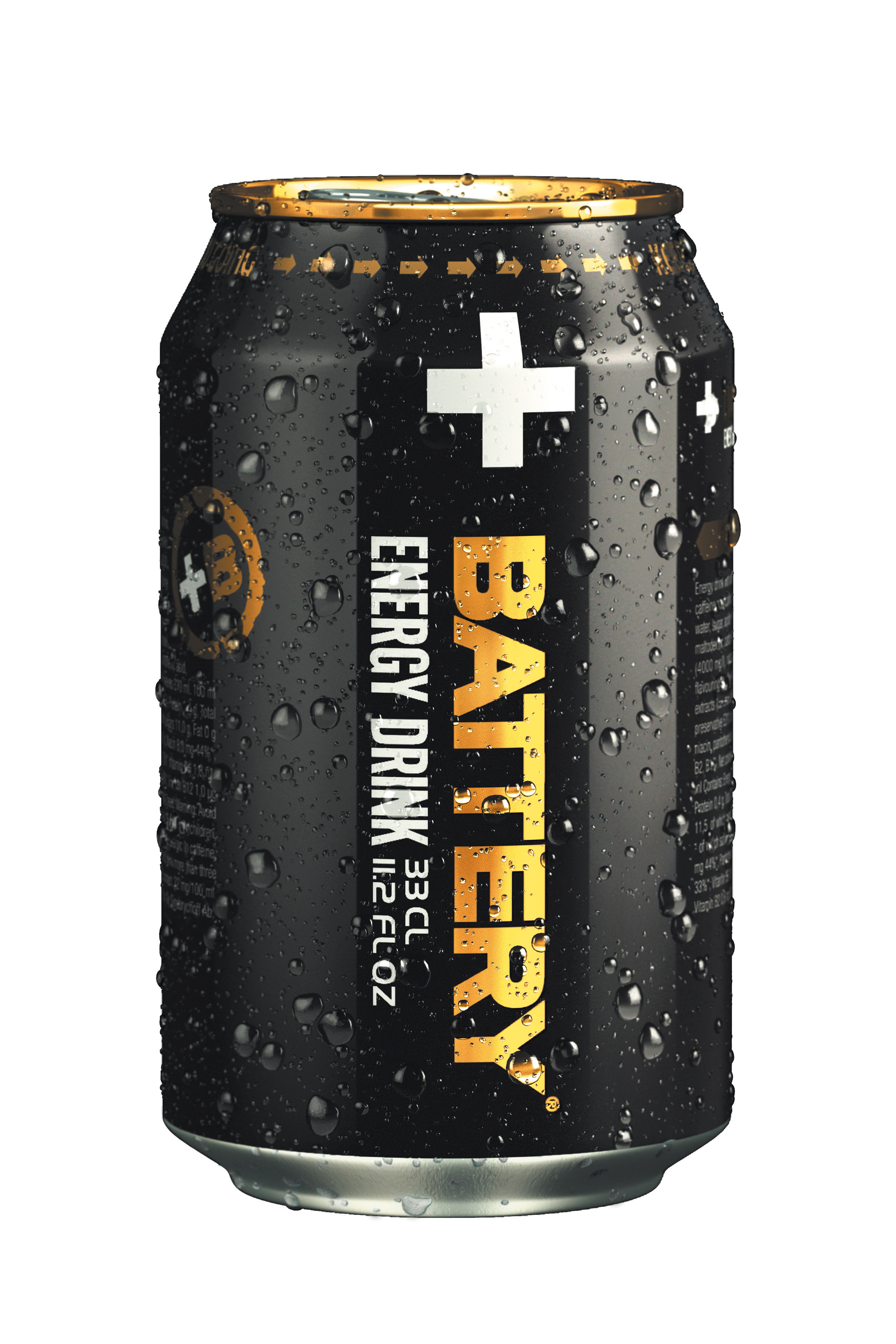 Battery Energy Drink, Keeps You Going